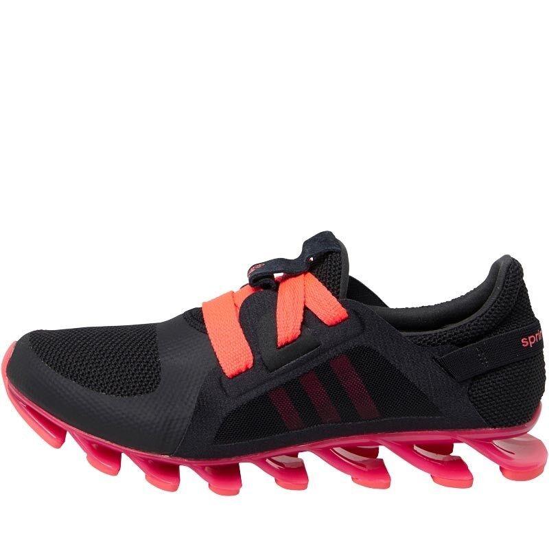Adidas Damenschuhe Girls Springblade Nanaya W Trainers Running Schuhes AQ7542 UK4.5-7