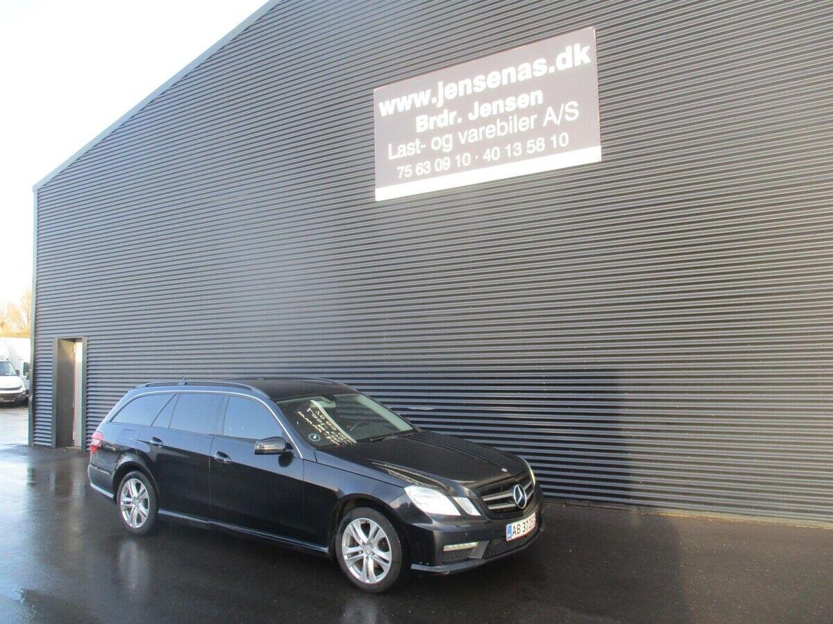 Mercedes E200 2,2 CDi stc. aut. BE 5d