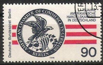 Briefmarken Gestempelt FöRderung Der Produktion Von KöRperflüSsigkeit Und Speichel Briefmarken Diplomatisch Berlin Nr.562 Amerikanische Handelskammer 1978