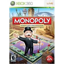 Monopoly Worldwide For Xbox 360 Board Games Game Only 0E