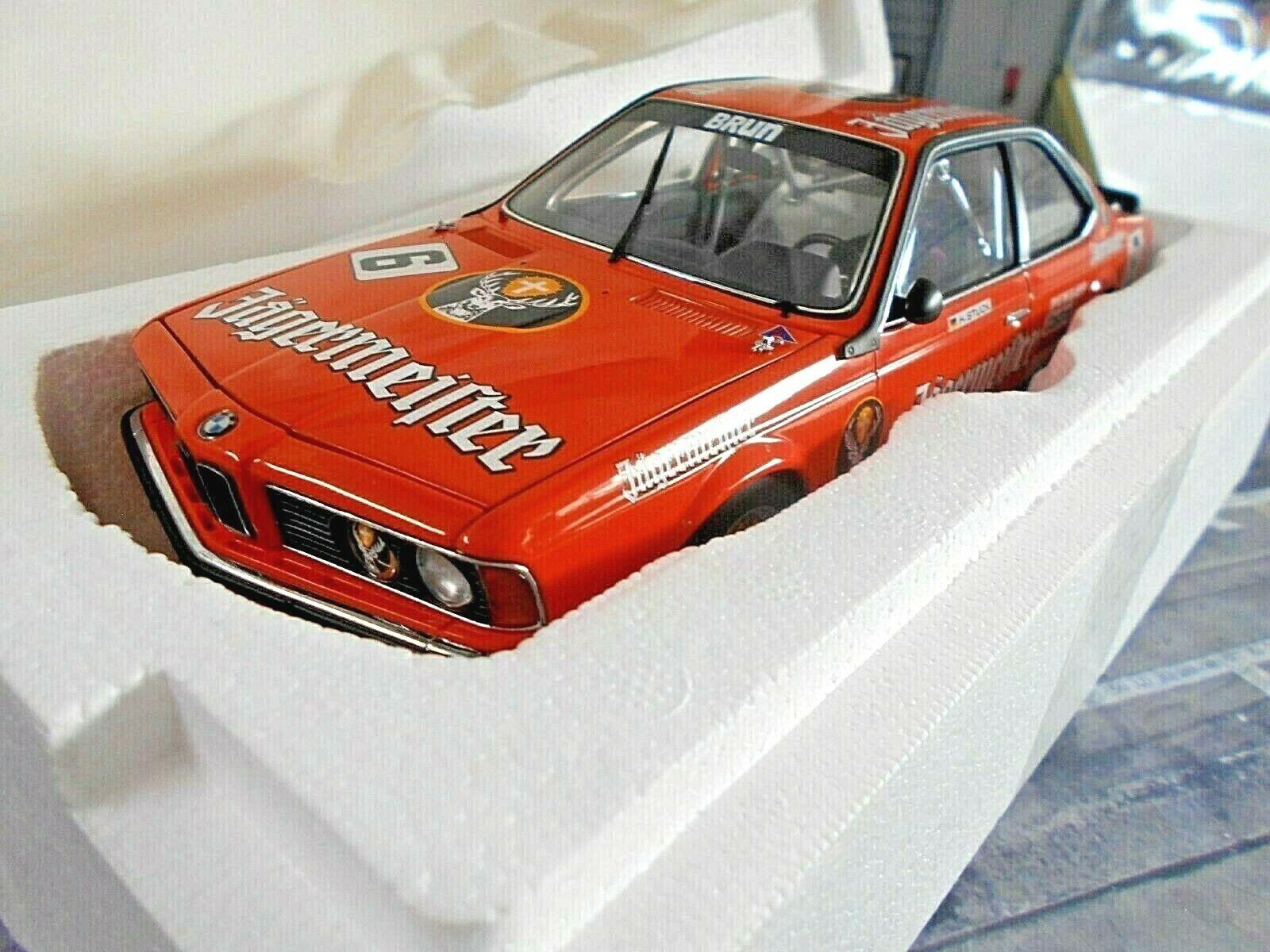 BMW 635 CSI e24 trajet voiture Jagermeister  6 stuc Brun 1984 TWEM Autoart 1 18