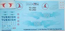 1:144 PAS-Decals #PAS045 - Boeing 737-800 TURKISH airlines 100 -  NEU !