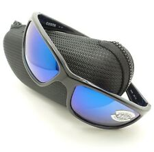Costa Del Mar Seagrove SGV 11 Shiny Black Sunglasses Blue 580p