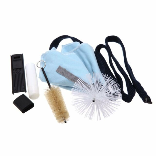 Saxophone Cleaning Tool KitCleaning Cloth+Cork Grease+Brush+Thumb Rest+Reed W2E6