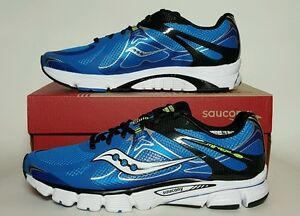 d0c14c8b Details about SAUCONY MEN'S MIRAGE 4 RUNNING BLUE/BLACK/CITRON NEW/BOX  MULTIPLE SIZES 20221-1
