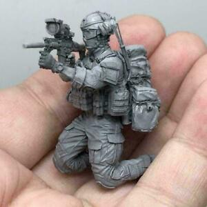 1-35-Modern-American-Army-Special-Forces-G-Resin-Soldier-AH-06-Model-K9I0