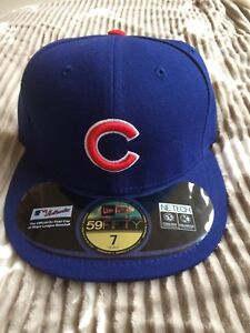 the best attitude 6ee79 3f1e2 Image is loading Chicago-Cubs-New-Era-59FIFTY-Fitted-MLB-Hat-
