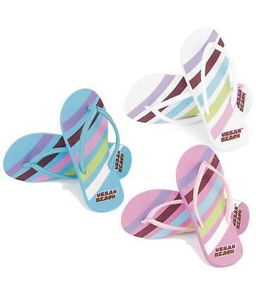 Swoosh Urban Beach Flip Flop Zapatos de marca para niños niñas Stripy Candy Stripe