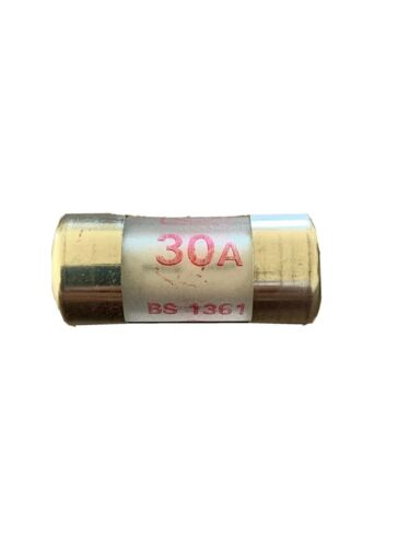 Mk 30 Amp Fuse Bs 1361 Made In England
