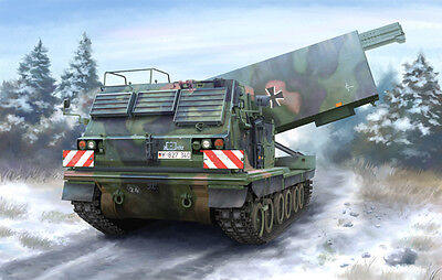 LANCE-ROQUETTES MULTIPLE US Armée Allemande M270 KIT TRUMPETER 1//35 n° 01046