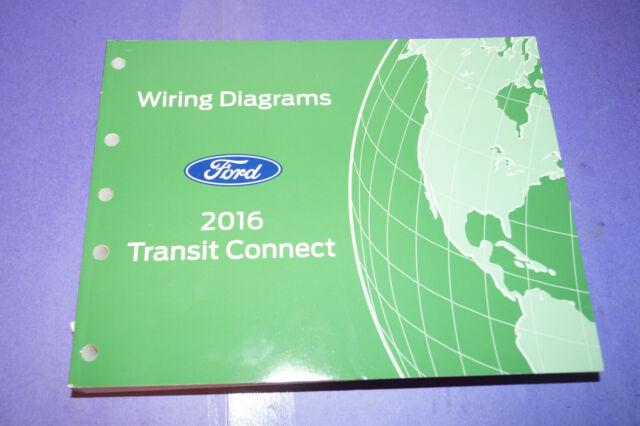 2016 Ford Transit Wiring Diagrams Manual Oem Book Guide