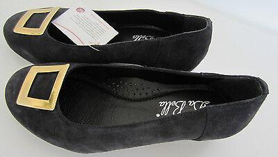 da Bella - Damen Elegante Schuhe - Kate marine Wildleder 54036n UK 4-6 6E