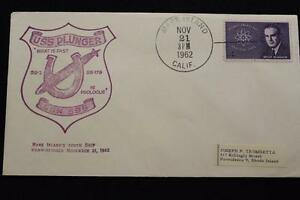 Naval-Cubierta-1962-Mano-Cancelado-Commissioning-Uss-Embolo-SSN-595-3694