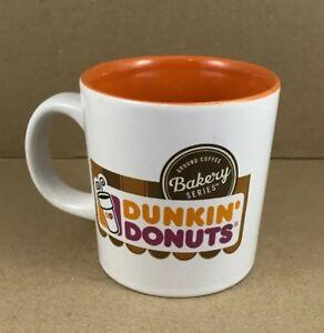 DUNKIN DONUTS CURRENT LOGO COFFEE MUG W ORANGE INTERIOR | eBay