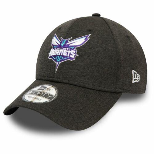 New Era 9Forty Cap SHADOW TECH Charlotte Hornets schwarz