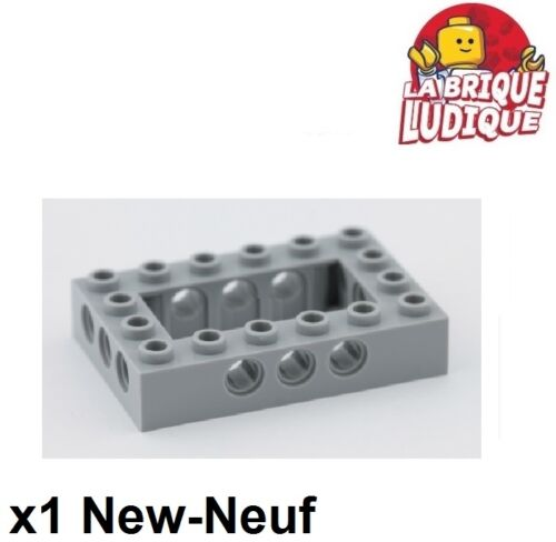 LEGO Bau- & Konstruktionsspielzeug LEGO Bausteine & Bauzubehör Lego TECHNIK 1x Lego Ziegel 4x6 open Zentrum grau/light Angebot gray 40344 neu