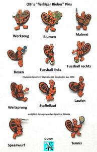 OBI-039-s-fleissiger-Bieber-Baumarkt-Sport-Abzeichen-Pin-s-badges-AUSSUCHEN