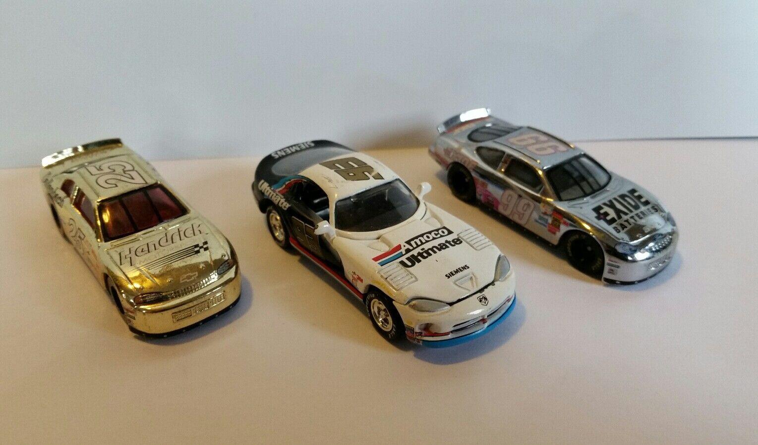 Racing Champions NASCAR Lot 1 64 Scale Burton, Blaney, Dallenbach Racecars