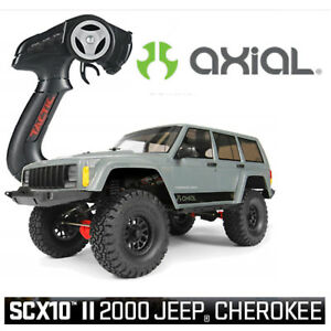Axiale Scx10 Ii 2000 Jeep Cherokee 1-10 4wd Rtr Ax90047