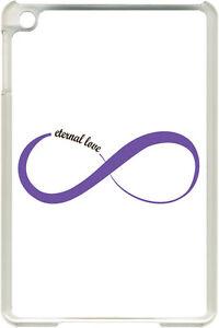 Purple infinity symbol eternal love design on ipad mini case cover image is loading purple infinity symbol eternal love design on ipad altavistaventures Images