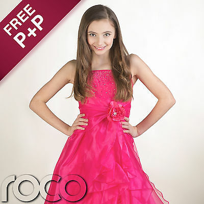 Girls Pink Dress, Prom Dresses, Bridesmaid Dresses, Flower Girl Dresses