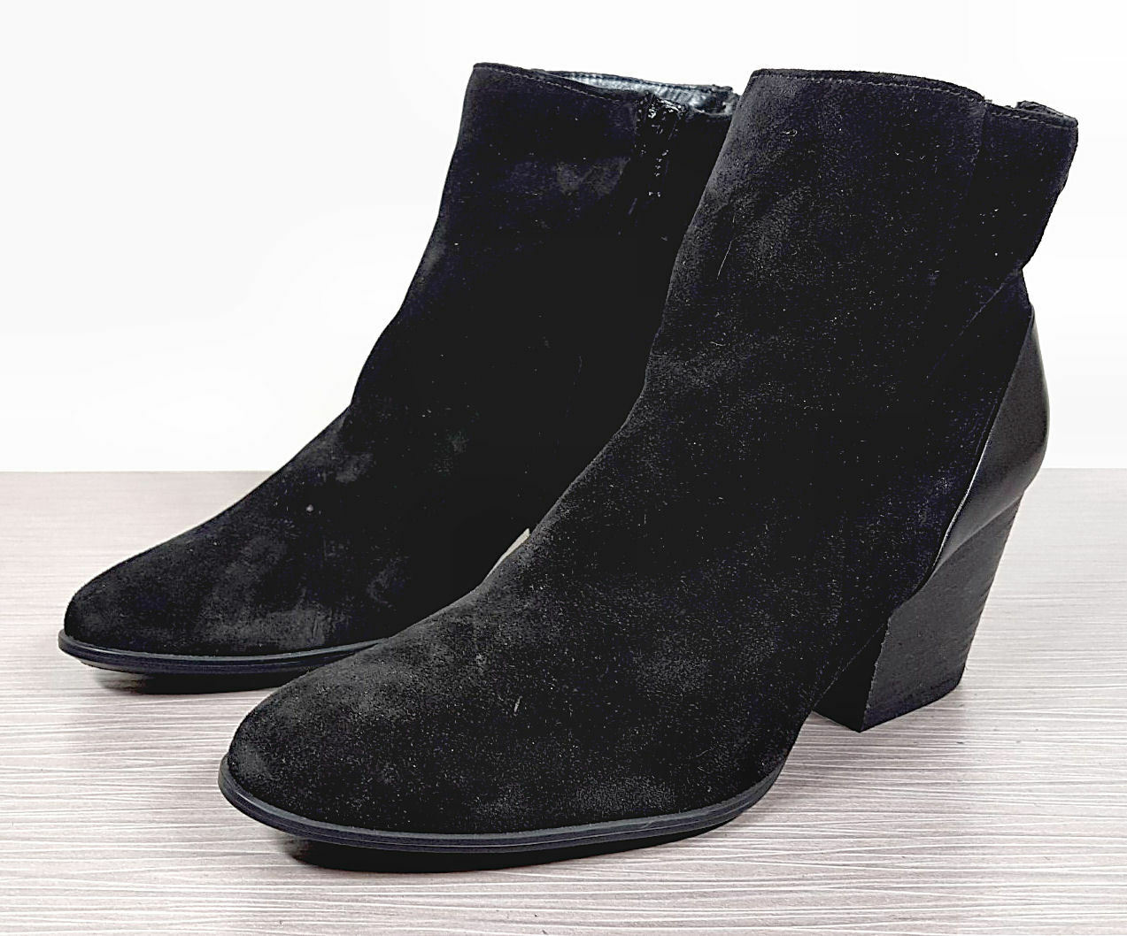 Paul Green 'Jada' Water Resistant Bootie, Black, Womens size 6 UK / 8.5 US