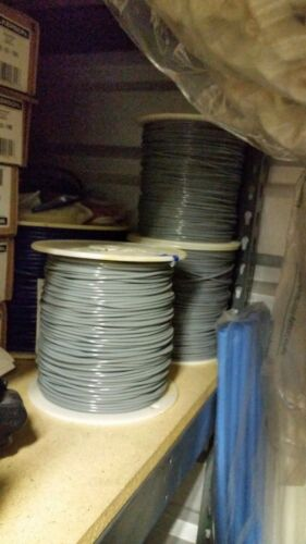 """PUR Gray 1//8/"""" x .066/"""" Supply Tubing 85A Softer"""