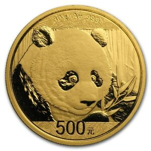 2018-China-30-gram-Gold-Panda-BU-Sealed-SKU-159694