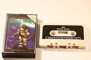 RARE-SONY-MSX-Game-SPACE-WALK-par-MASTERTRONIC-1984-cassette-jeu