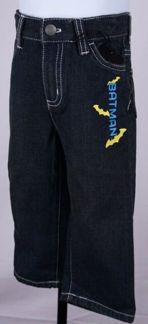 Batman Jeans Baby 18 Months Boys Infant Stitched Denim Pants DC Comics New ST159