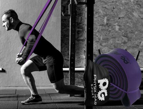 Large Resistance Pull Up Strength Assist Bands Muscle//Stretches//Crossfit//Yoga//Et