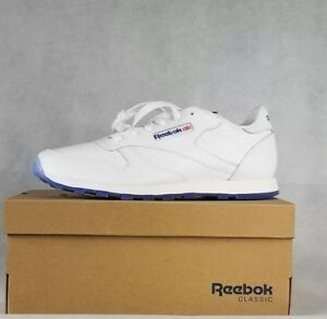 Image is loading REEBOK-CLASSIC-LEATHER-ICE-WHITE-STEEL-ICE-AR3781- eaff3e8d6