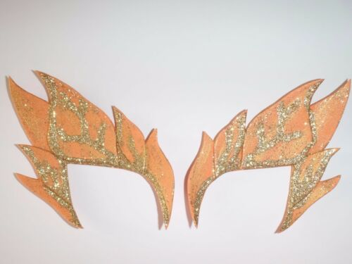 POISON IVY COSTUME EYE MASKS COSPLAY FANCY DRESS EYEBROW MASK UMA THERMAN