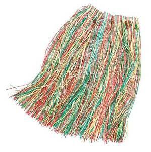 80cm Largo Multicolores Hawaiian hierba Falda, Hula Fancy Dress  </span>