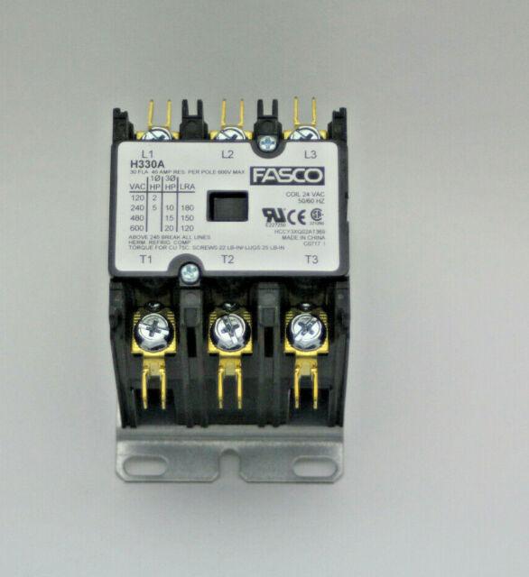 22A ABB AX 09-30-10-80 Electrical AC Contactor 3Pole 50//60Hz 220-240V