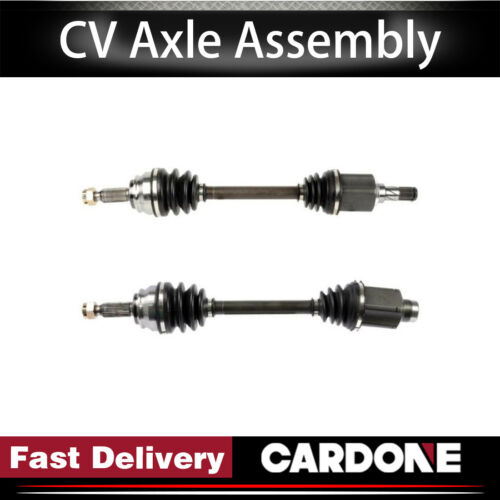 L4 2.4L Cardone CV Axle Shaft Front Left/&Right 2PCS For 2007-2008 DODGE CALIBER
