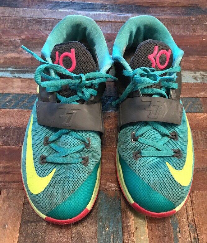 Nike KD 7 VII GS Hyper Jade Pink Volt Comfortable  Seasonal clearance sale