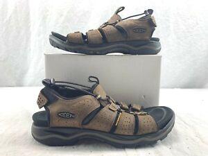 9746fc140b2e KEEN 1016835 Men s Rialto Open Toe Waterproof Sandals Dark Earth ...