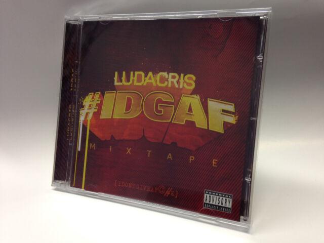 LUDACRIS - IDGAF CD BRAND NEW & SEALED!