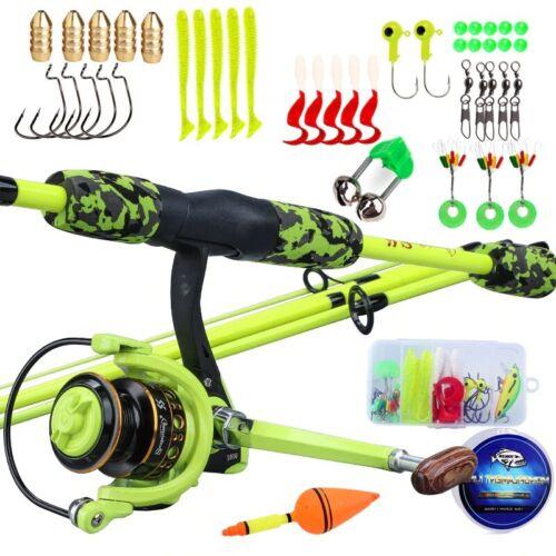 Sougayilang Fishing Rod and Reel Combo Spinning Fishing Rod and Spinning Reel
