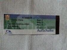 Ticket CL 01/02 Schalke 04 - Real Mallorca