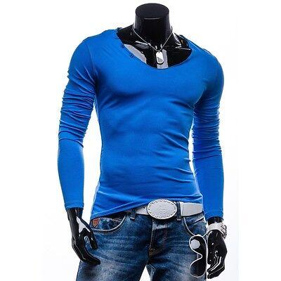 STEGOL 547 Herren Shirt Longsleeve Langarm Men Sweatshirt Pullover 1A1 T-shirt