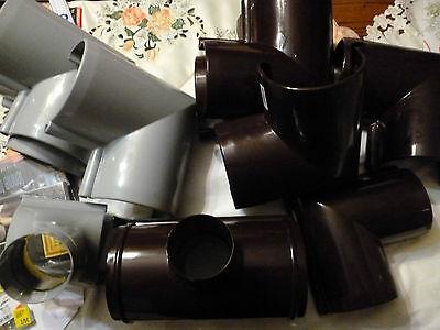 Dachrinnenzubehör Kunststoff Stutzen Aussenecke In Varianten Grau Braun Neu Produkte Werden Ohne EinschräNkungen Verkauft Regenrinnen & Zubehör Baustoffe & Holz