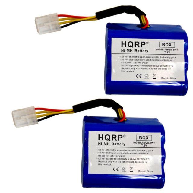 2-Pack 4000mAh 7.2V Batterie Pour Neato XV-11 XV-12 XV-14 XV-15 945-0006