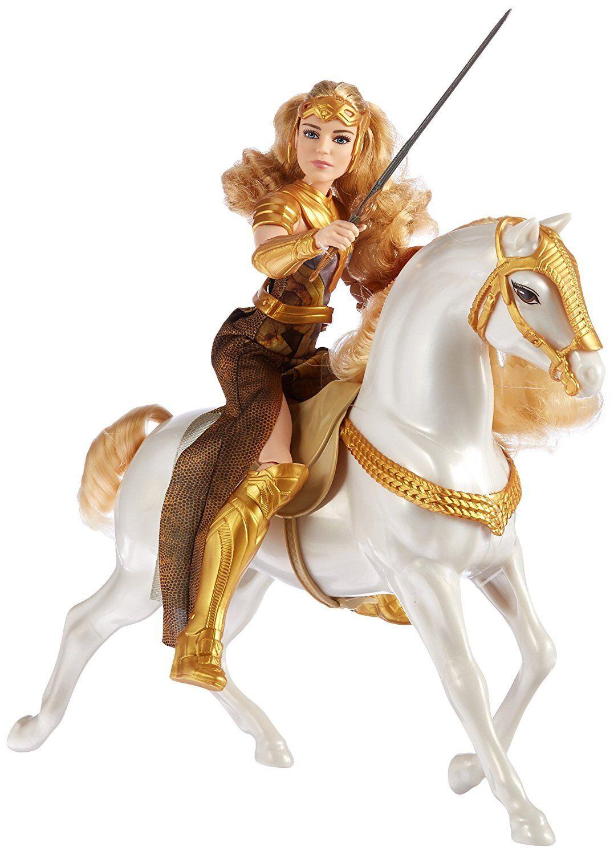 DC Comics Wonder Woman Queen Hippolyta Doll & Horse