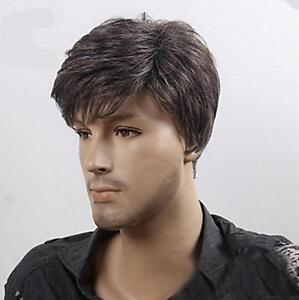 Men-Popular-Short-Dark-Brown-Straight-Cosplay-Party-Heat-Resistant-Hair-Full-Wig