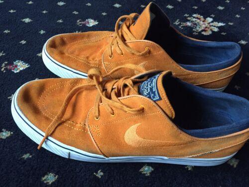 11 in Uk Taglia Janoski ginnastica scamosciata arancione Scarpe Zoom Stefan Nike da Air 12 pelle Us 0qn1O