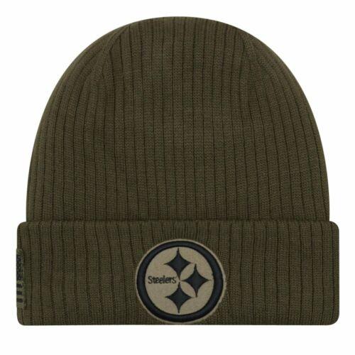 Pittsburgh Steelers New Era Salute to Service Wintermütze