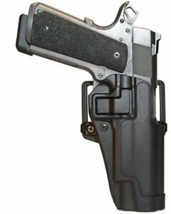 BlackHawk-CQC-Carbon-Fiber-Holster-Matte-Finish-Colt-1911-BLACK