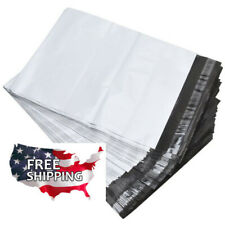 200 10 X 13 Poly Mailers White Envelope Plastic Shipping Bags